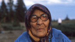 Cree Elder Woman  Whapmagoostui, Quebec, Canada. (1993)