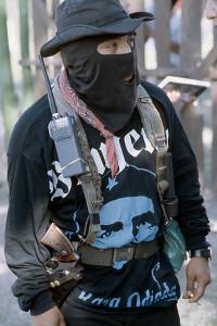 Zapatista Comandante 1996