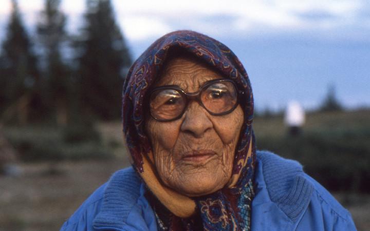 -*24.5 4 Cree Elder Woman, Quebec