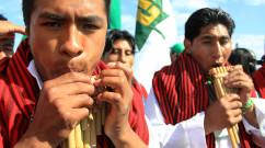 Indigenous protestors at UNFCCC negotiations in Cancun