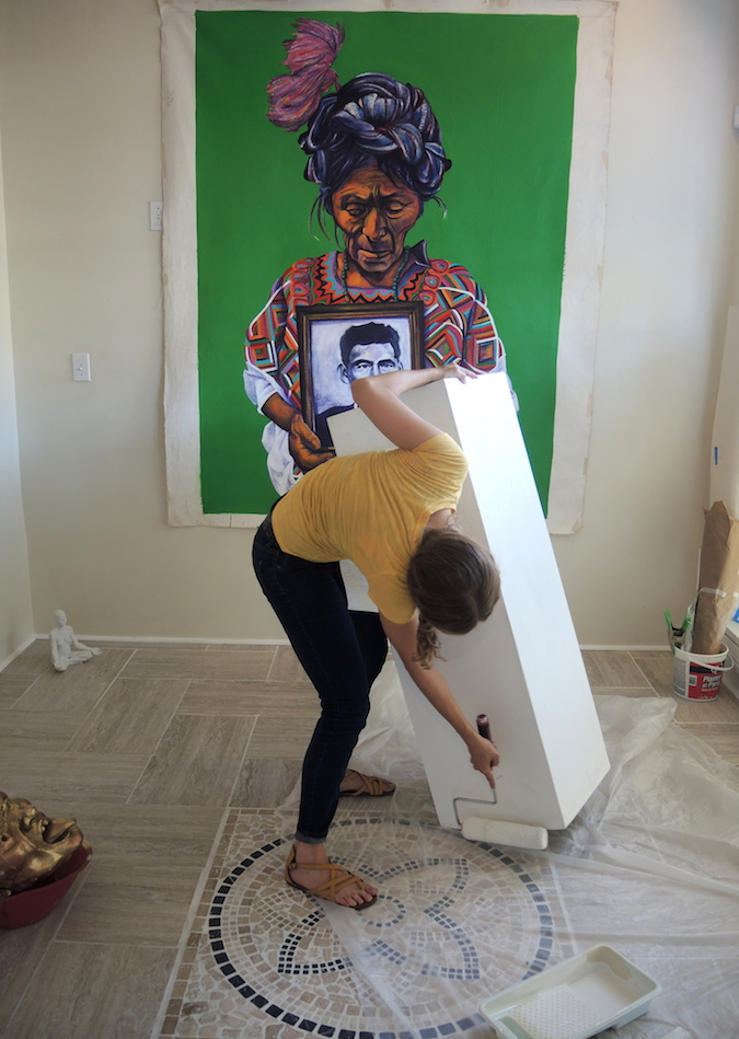 painting pedastol